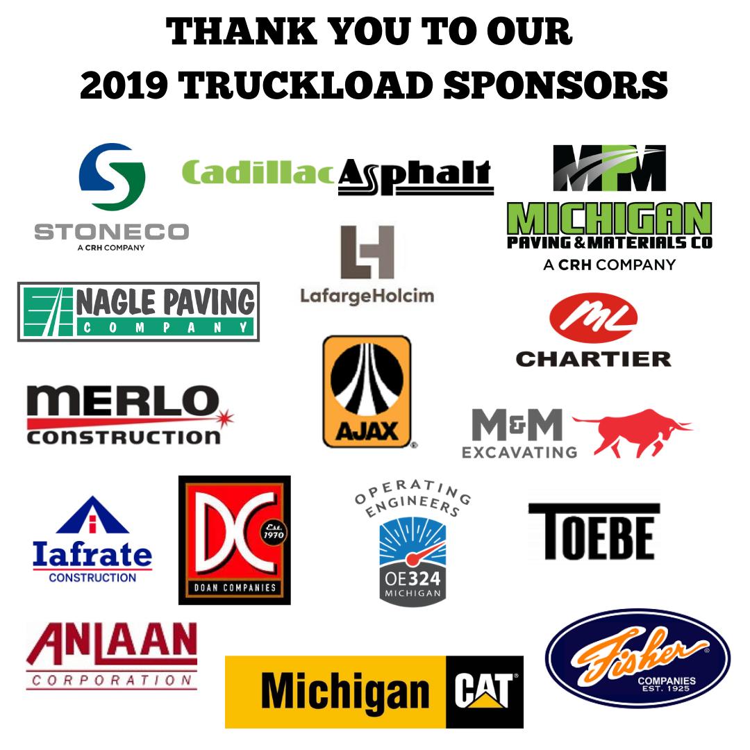 2019 truckload sponsors