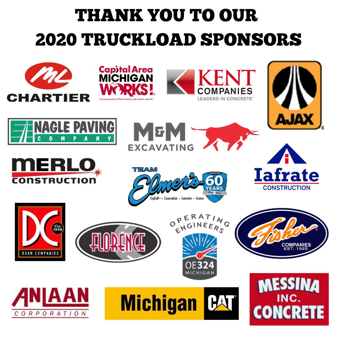 2020 Truckload Sponsors